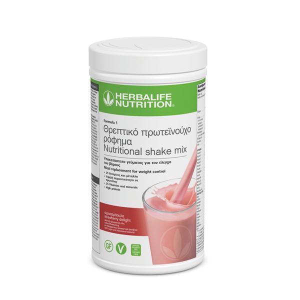 Θρεπτικό Πρωτεϊνούχο Ρόφημα Formula 1 - Γεύση Αγριοφράουλας 550γρ