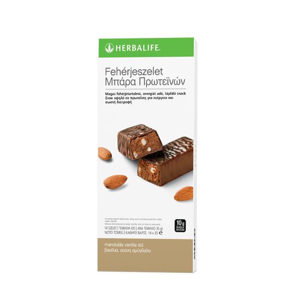 Σοκολάτα Πρωτεΐνης με γεύση Βανίλια - Αμύγδαλο
