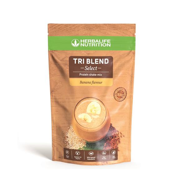 Tri Blend Select - Μείγμα Πρωτεϊνούχου Ροφήματος - Γεύση Μπανάνας 600γρ